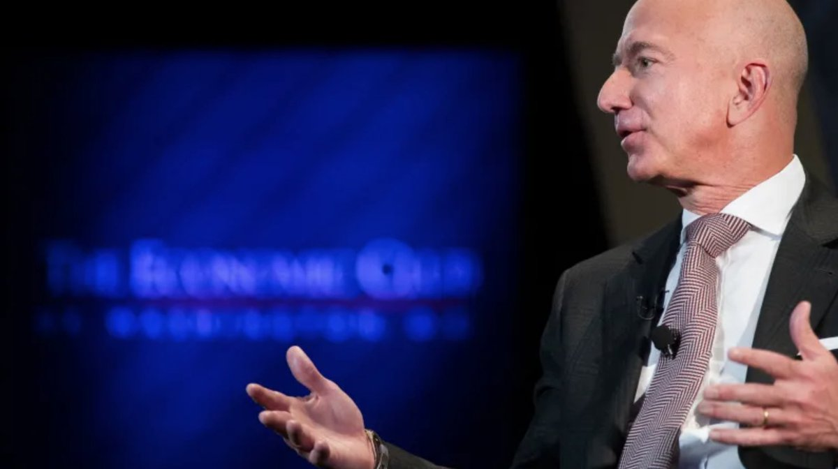 Bezos coughs up $97.5 million for charity https://t.co/VTrTouJsw4