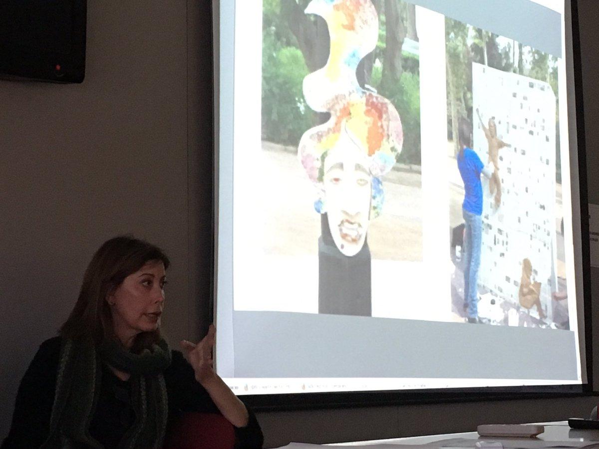 Comencem: Com posar en marxa experiències d#ABP a secundària amb recolzament de profes de @iesbovalar @BovalarProjecta? Taller Aprenentatge basat en projectes a lIES Bovalar de Castelló. Fernando Peña (Geog i Història) i Lucía Monfort (EdPlàstica) #CsCEFIRE