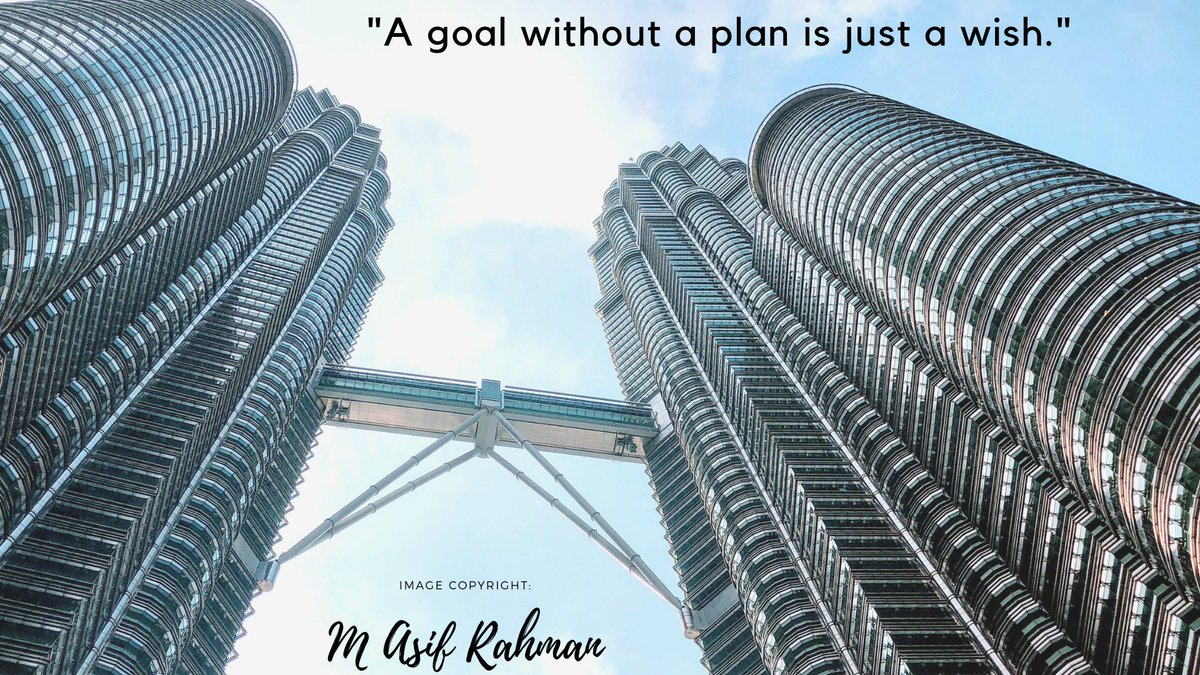 "test Twitter Media - ""A goal without a plan is just a wish.""Image Credit: Me! :D#LifeLeesson #Quote #quotes #quotestoliveby #quoteoftheday https://t.co/O1krsmGm7L"