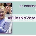 #EllosNoVotanPorTi Twitter Photo