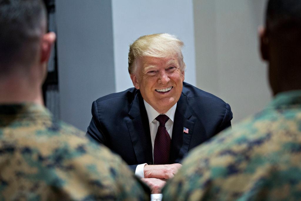 Trump is 'afraid' to visit U.S. combat troops in war zones: Report https://t.co/sLhJl9B1pF