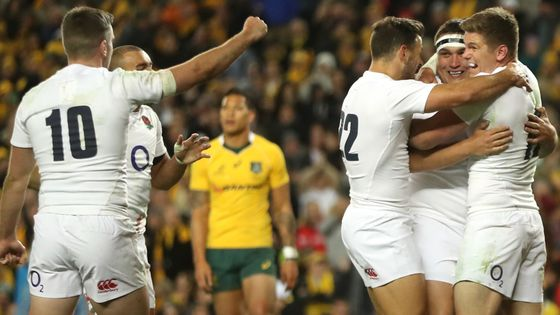 test Twitter Media - 🗳️ QUIZ: @EnglandRugby 🏴󠁧󠁢󠁥󠁮󠁧󠁿 vs 🇦🇺 @QantasWallabies  Test your knowledge of the history of Test matches between England and Australia over the years: https://t.co/6YGbOJ5Vsi  #ENGvAUS #followtherose #autumninternationals #QuilterInternationals https://t.co/ixZcMWamtN