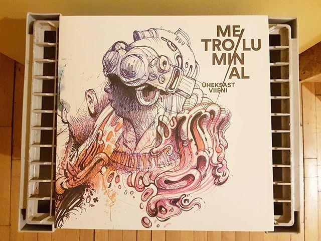 Metro Luminal - Üheksast Viieni - Vaiguviiul #vinyl #music #estonia