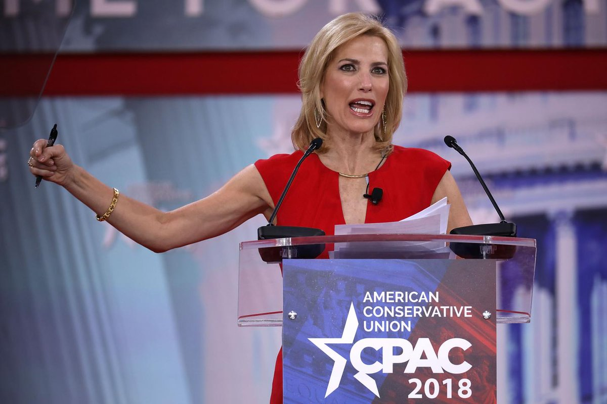 Laura Ingraham actually challenged Trump for making fun of Adam Schiff's name  https://t.co/eA8ZomDzij