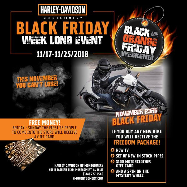 H D Montgomery On Twitter This Friday Come See Us At Harley