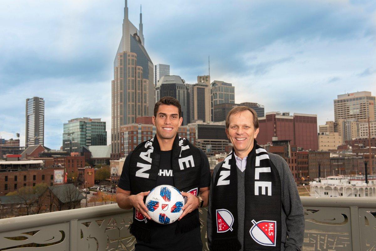 Daniel Ríos será jugador de la MLS son el Nashville SC. El equipo se unirá a la liga en el 2020.
