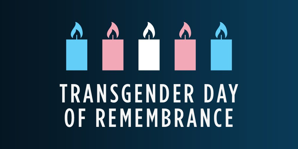 On Transgender Day of Remembrance, we mourn those who lost their lives because of anti-transgender violence and bigotry. We all have a responsibility to fight for safety and equality for everyone — now is not the time to be silent. #TDOR