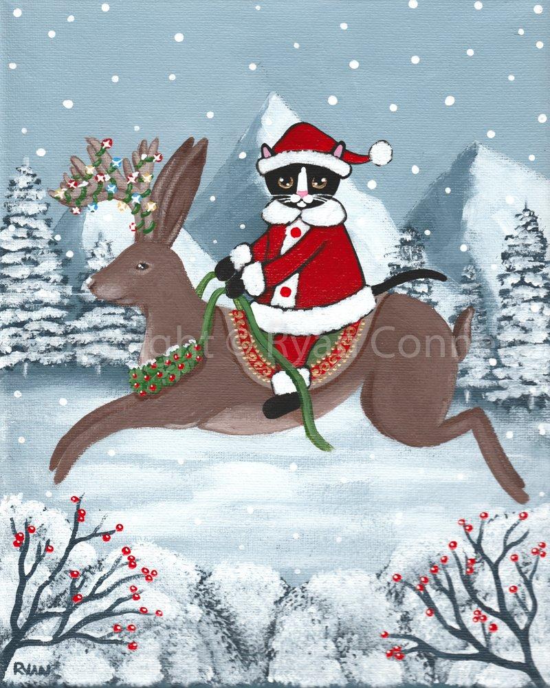 Image result for kilkenny cat art winter