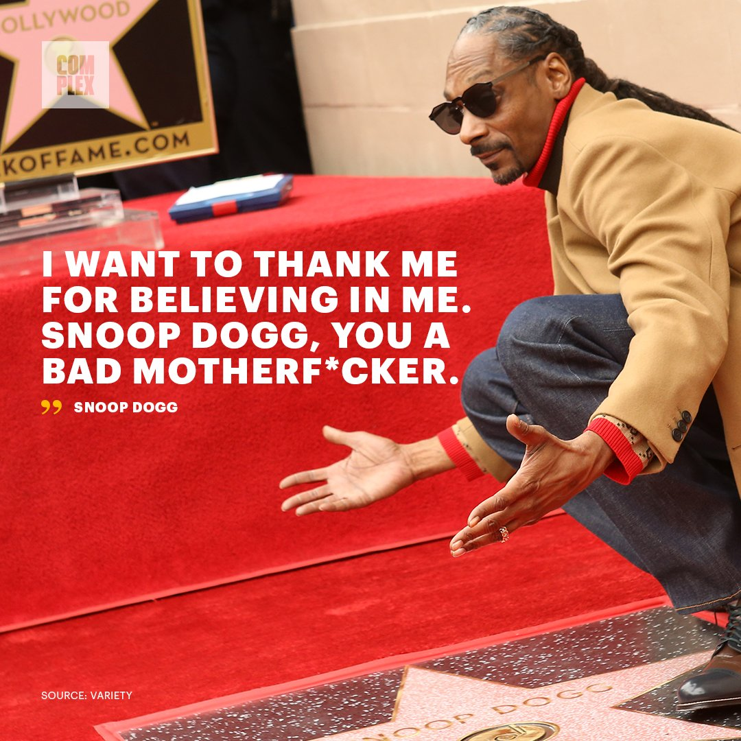 🌟 @SnoopDogg at his Walk of Fame star ceremony.