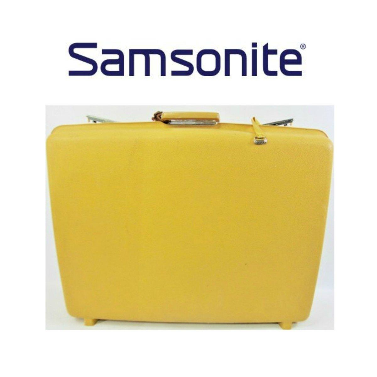 8d60cf945 Vintage Samsonite Saturn Yellow Hard Suitcase, Vintage Samsonite Luggage,  Yellow Suitcase, 1970s Luggage, Retro Photo Prop https://etsy.me/2qW4FH6 ...