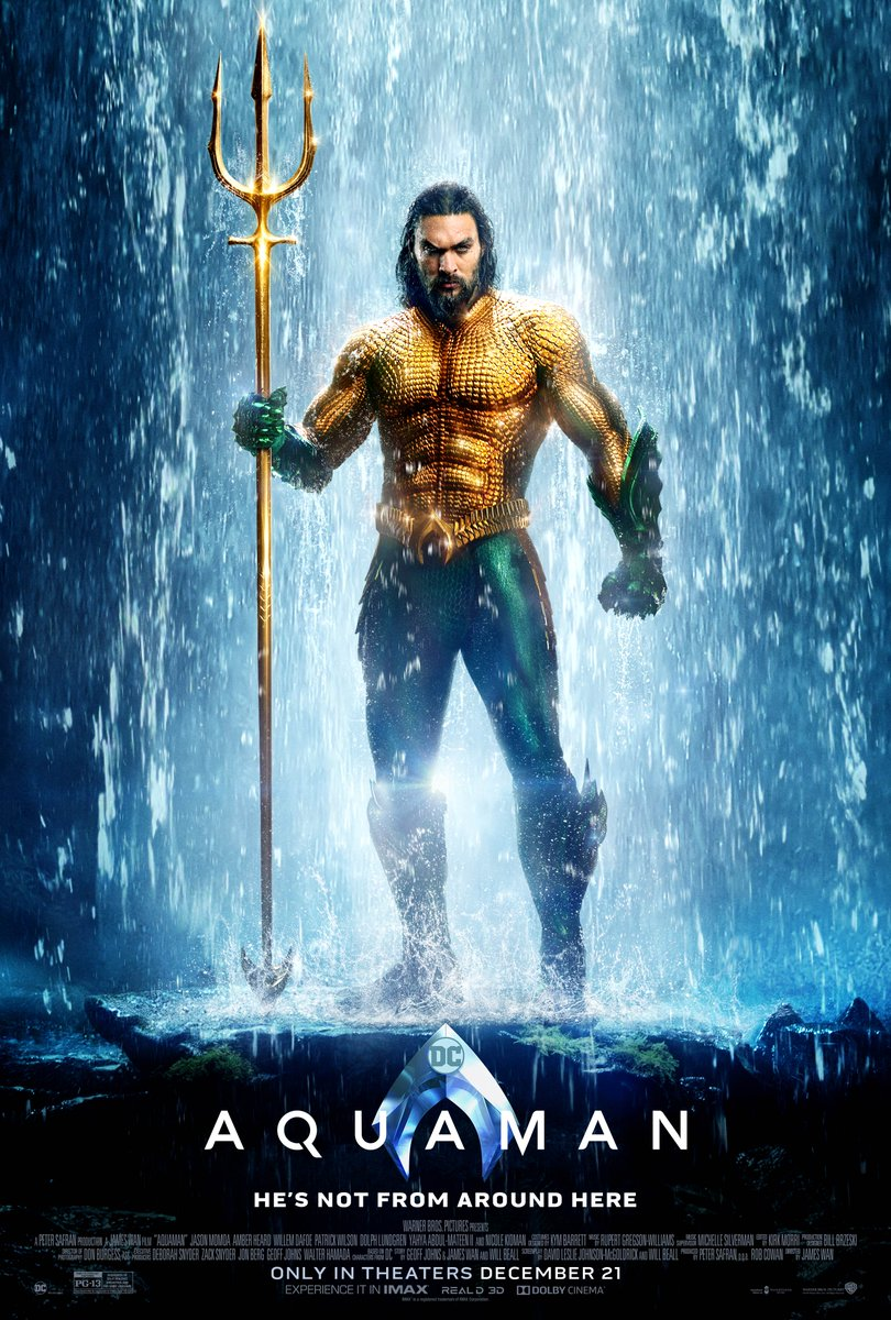 Aquaman 2018 Full Multi Audio Movie Download HDrip 720p | G-Drive Link | Watch Online