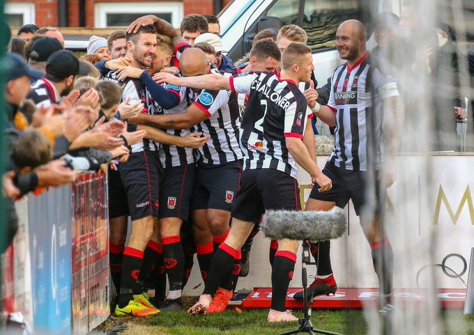 Good luck to everyone @chorleyfc for tonight's #FACup replay against @drfc_official #COYM ⚫️⚪️ Photo