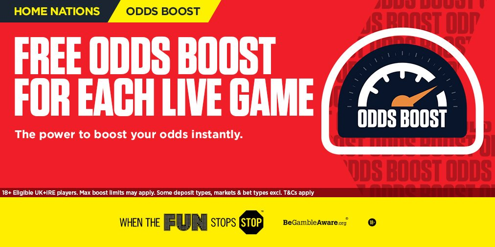 Betting on Scotland vs Israel?  Get an #OddsBoost on every live home nations match ➡️ https://t.co/TRlqn2ZwP0