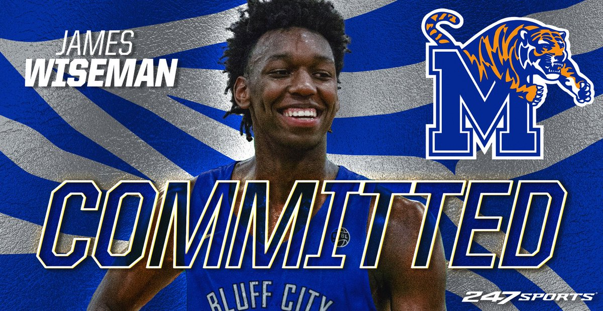 Five-star center James Wiseman just verbally committed to Memphis, Penny Hardaway | Story: https://t.co/emDltvXXOC https://t.co/1jh0Fhogh6