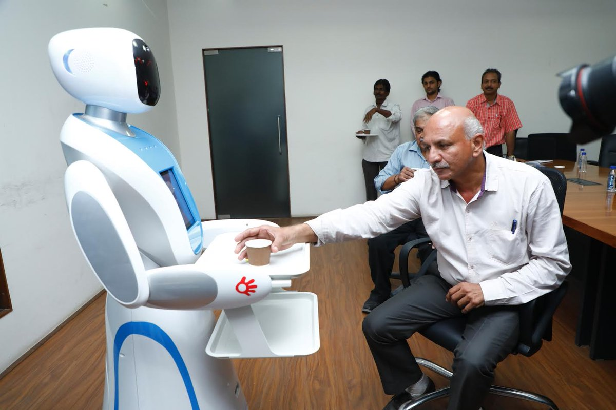 63 robots working in Gujarat: Science & Technology minister in assembly