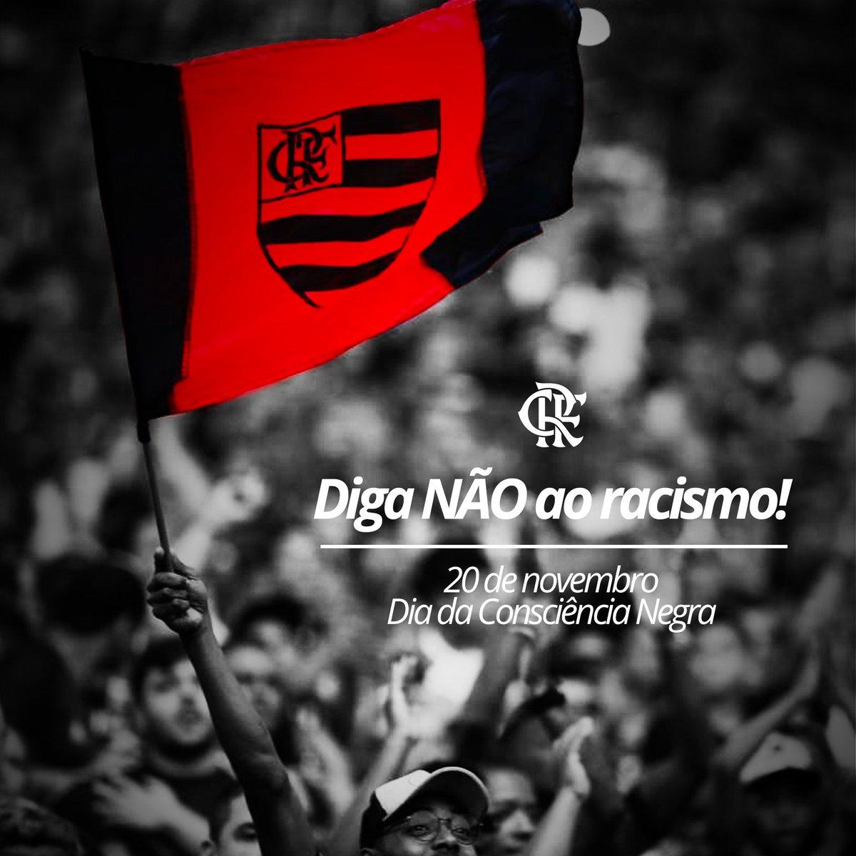 Dia de lembrar que somos todos iguais. Temos a mesma paixão. Em nossas veias, corre o mesmo sangue Rubro-Negro. Somos todos Flamengo!  #CRF