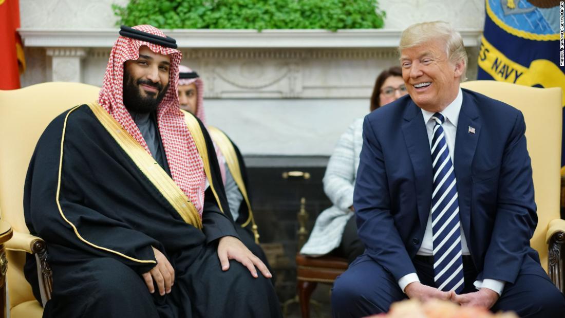 BREAKING: Trump signals US won't punish Saudi crown prince over Khashoggi killing https://t.co/0Gu0Yibz94