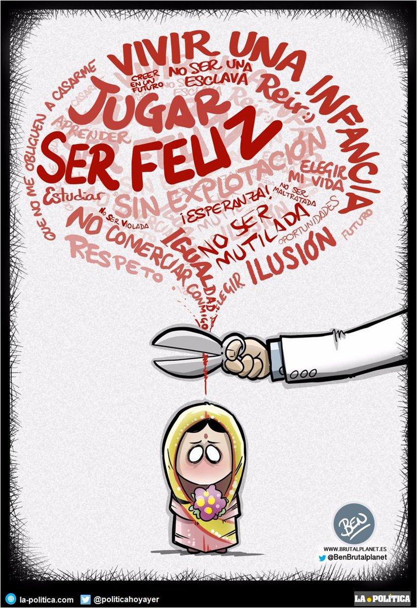 #DíaUniversalDelNiño Viñetas en la-politica.com de @EnekoHumor y @BenBrutalplanet