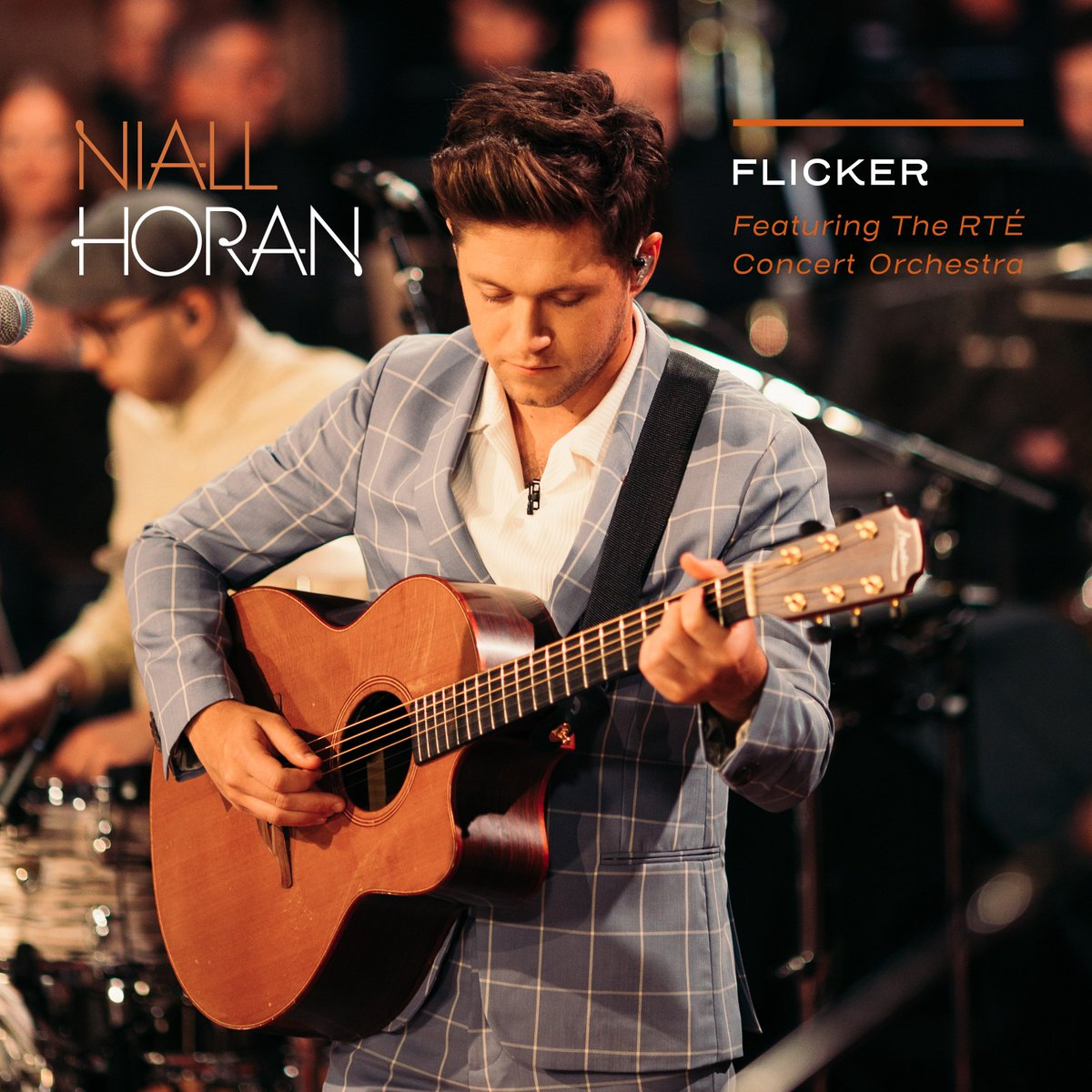 """Earlier this year, I had the honour of recording some tracks from Flicker with a 45 piece orchestra in Dublin . I'm delighted to announce the release of """"Flicker feat. The RTÉ Concert Orchestra"""" on 7th December ."""