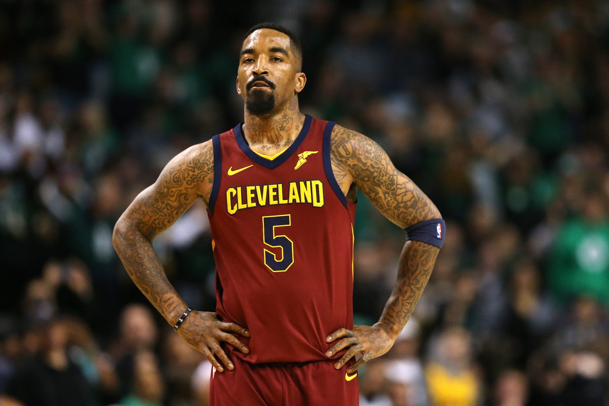 JR Smith will reportedly no longer be actively with the Cavs and is working with the team to trade him.   (via @joevardon)