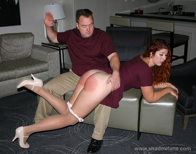 Husband kissing his dom wife ass