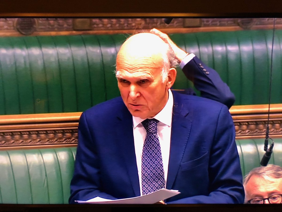 Vince Cable so bamboozled by Brexit, he's grown an extra arm just for head scratching