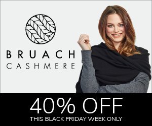 HANDMADE IN #SCOTLAND. Yes friends, http://www.bruachcashmere.com have a Black Friday week sale on that's so good even I'm plugging it. 40% off luxury cashmere travel wraps for his, hers, your newborn, and anything else wrappable in cashmere. One word review: stunning.