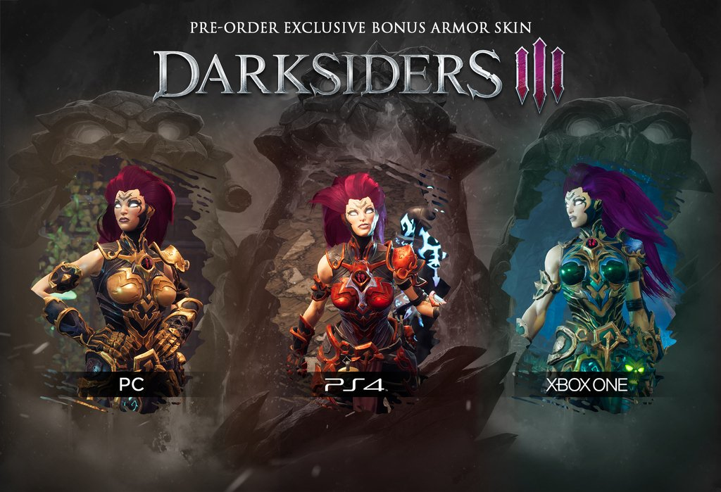 """Gunfire Games on Twitter: """"Pre order Darksiders 3 before ..."""