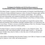 Image for the Tweet beginning: BREAKING: Washington Post publisher says