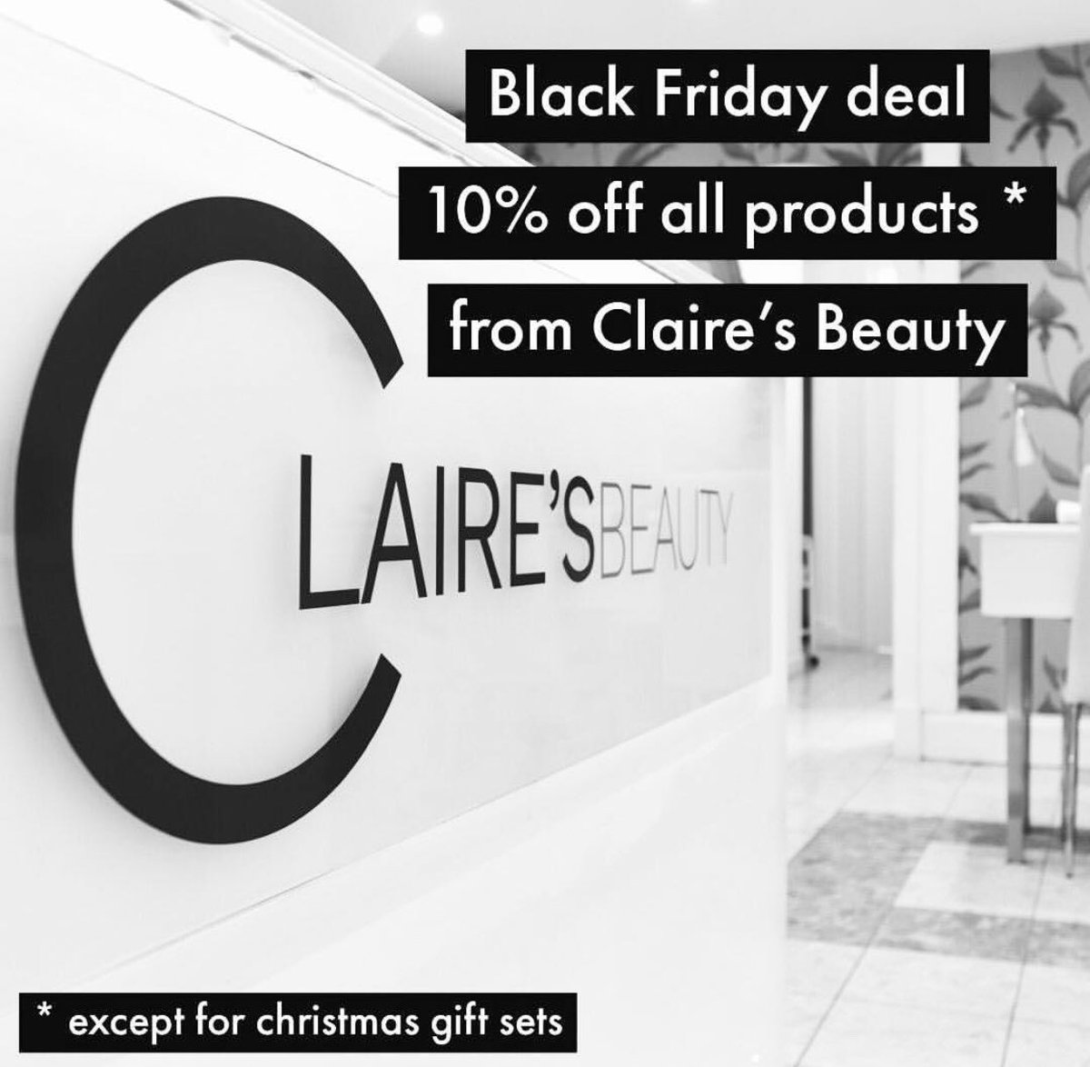 Black Friday deals in the West End at Claire's Beauty on Alva Street 💄   #hiddengems #takeacloserlook #thisisedinburgh #edinburgh
