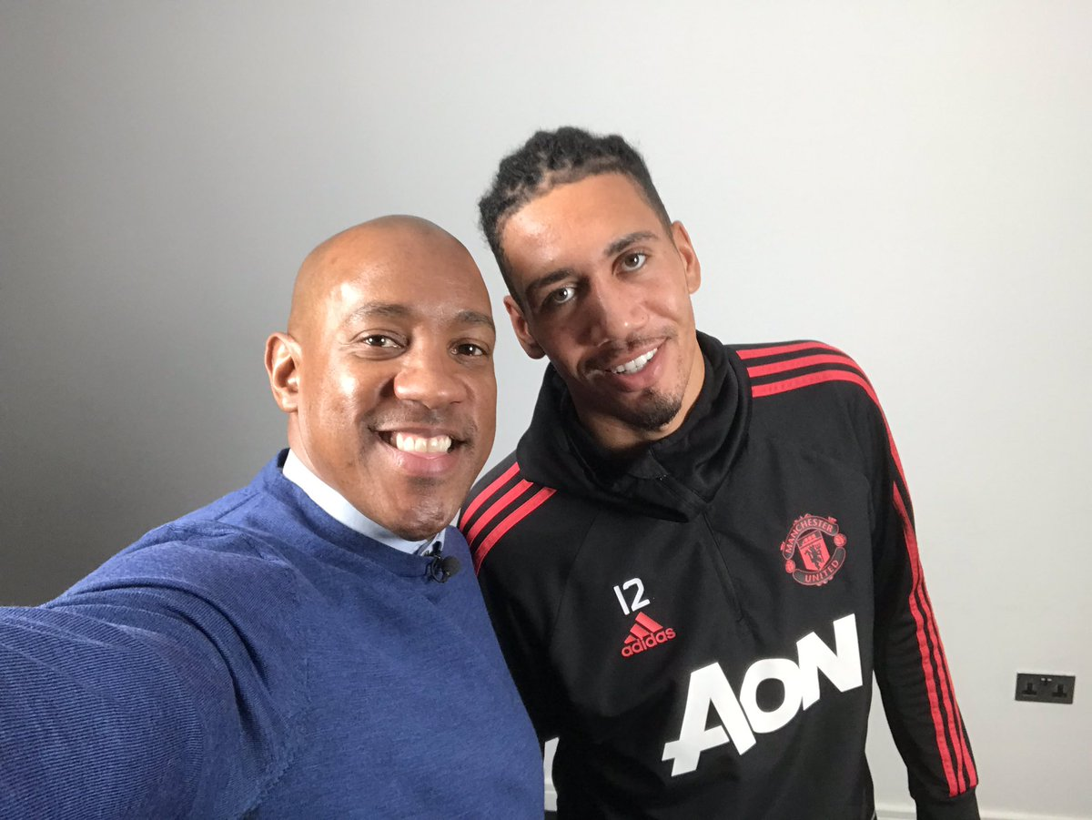 Thanks to @ManUtd but a massive THANK YOU to @ChrisSmalling for taking the time to chat to me today for @BBCSport about his love and fond memories of playing for @maidstoneunited