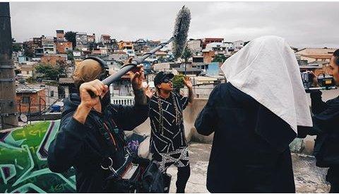 """Dia 20 de Novembro foi produtivo Gravação da Série : """" Meu Pedaço de Brasil """"   Itaquera e RESISTÊNCIA!  #MeuPedaçoDeBrasil #TacFilmes  #SBTSantaCatarina #DoryDeOliveira"""