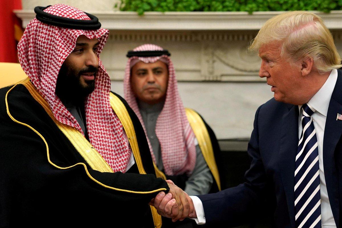 Trump rejects punishing Saudis for Khashoggi killing https://reut.rs/2DP9ZEP