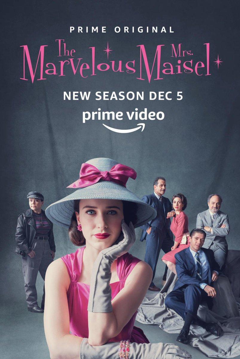 The Marvelous Mrs Maisel, saison 2 (scoops et infos) DseVU31WkAEy4Jc