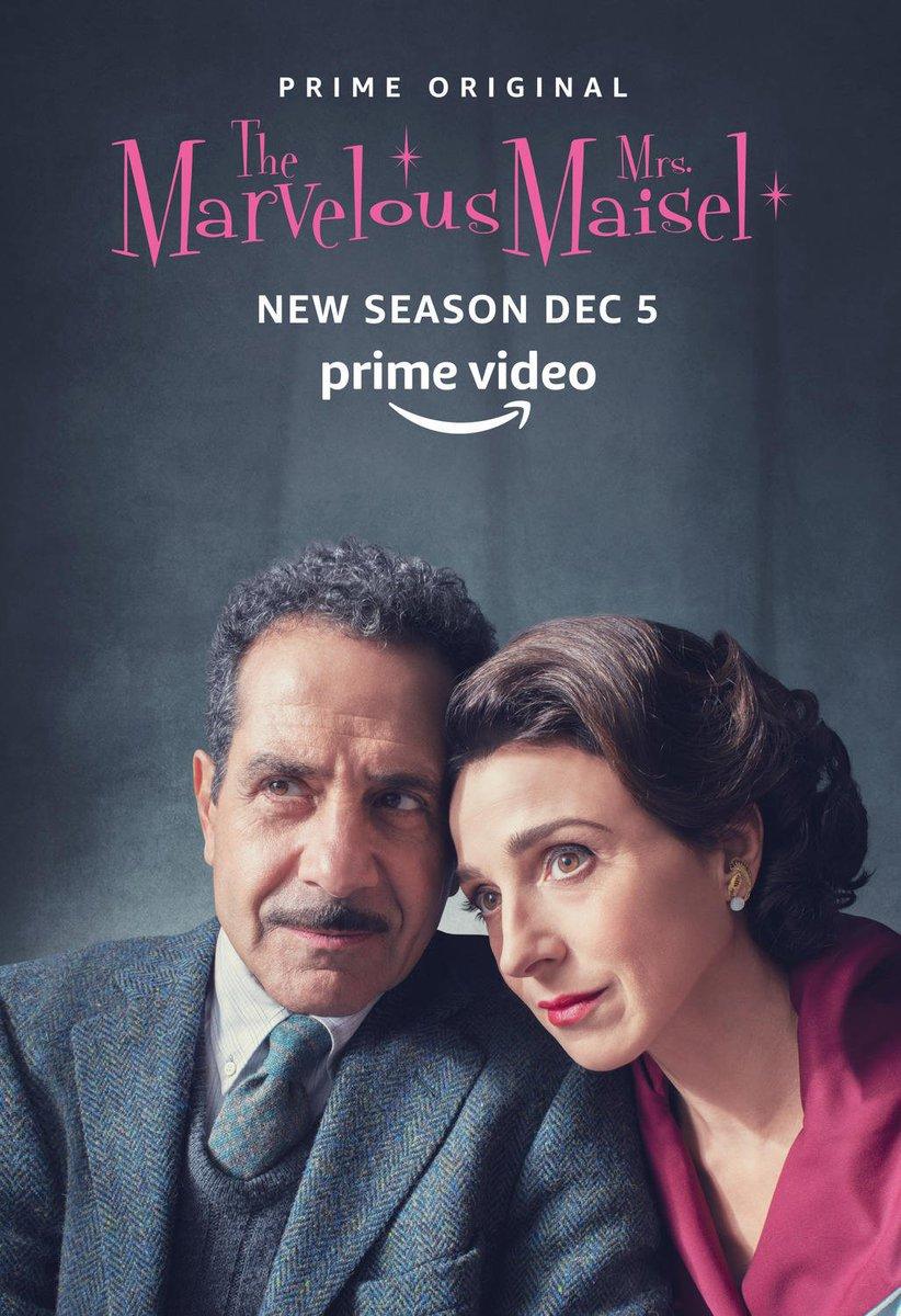 The Marvelous Mrs Maisel, saison 2 (scoops et infos) DseVVQmXQAoHpF3