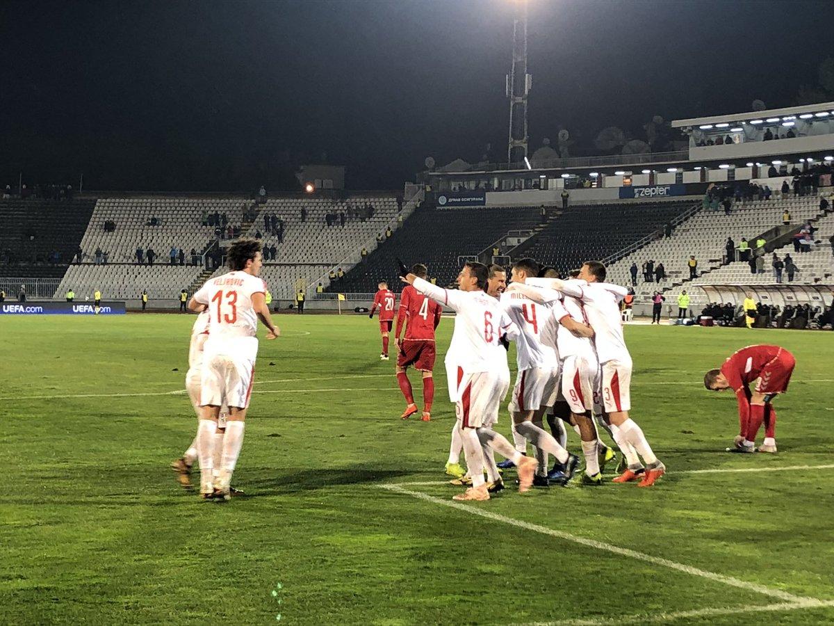 Лига наций. Сербия выиграла группу C4, опередив Румынию - изображение 1