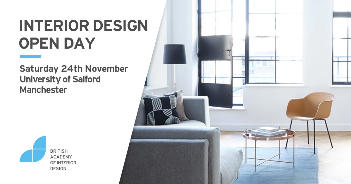 Baid Co Uk On Twitter Our Open Day Takes Place In Manchester This Saturday 24th November Find Out About Our Interiordesign Courses Meet Our Tutors And Talk To Some Of Our Past Students Https T Co Or2makwdof