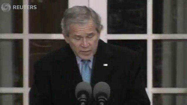 A look in the archives: 'As we count our blessings, Americans also share our blessings,' President George W. Bush spares Flyer and Fryer from the dinner table in 2006