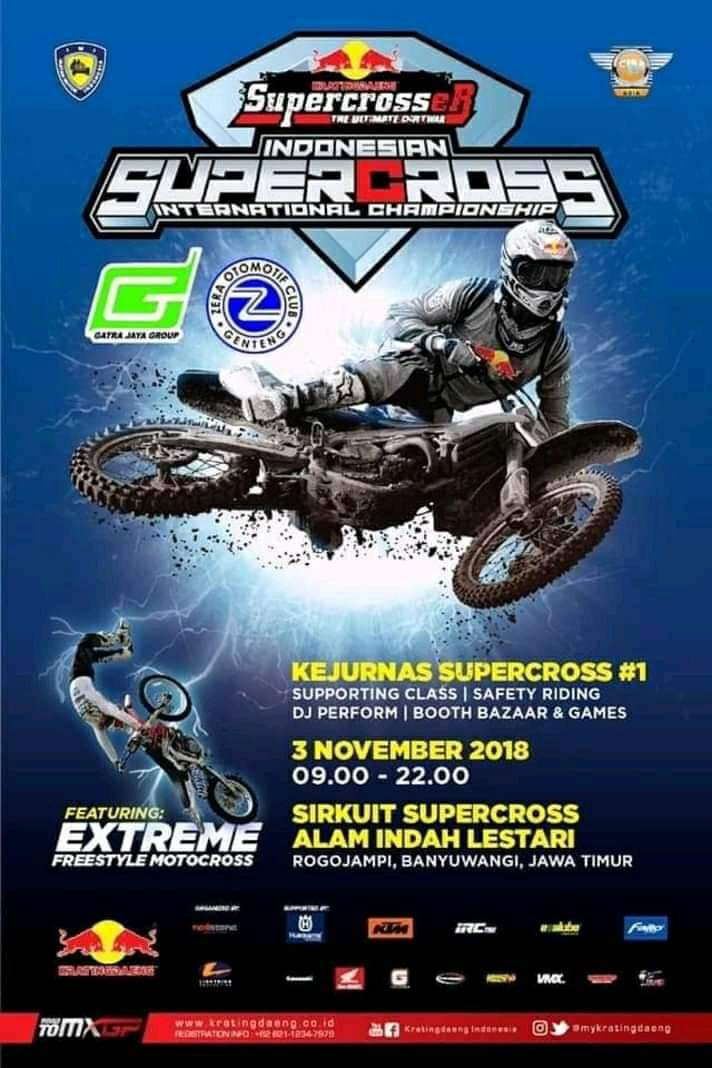 Save di sini saja😊 #supercroser  #supercross  #internationalchampionship  #kejurnassupercross  #1  #sirkuit  #AIL #Banyuwangi