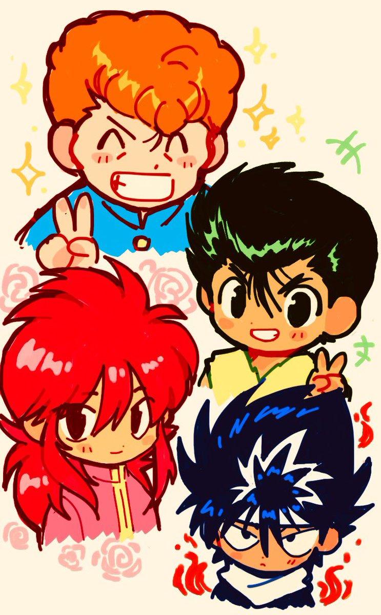 Fluff A Twitter Yu Yu Hakusho Phone Doodle