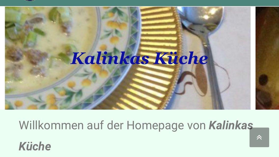 Emejing Kalinkas Küche Rezepte Images - Erstaunliche Ideen ...