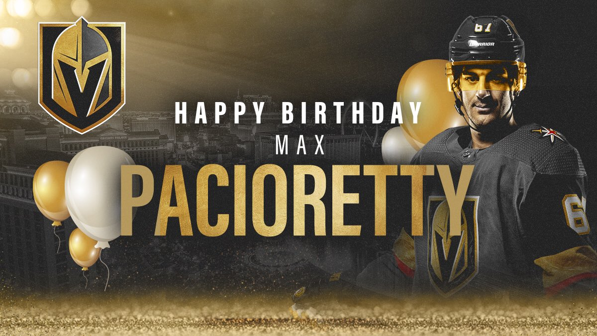 Don t forget to wish Max Pacioretty a happy birthday today!