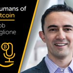 Image for the Tweet beginning: The best #HumansOfBitcoin podcast yet!    @robviglione