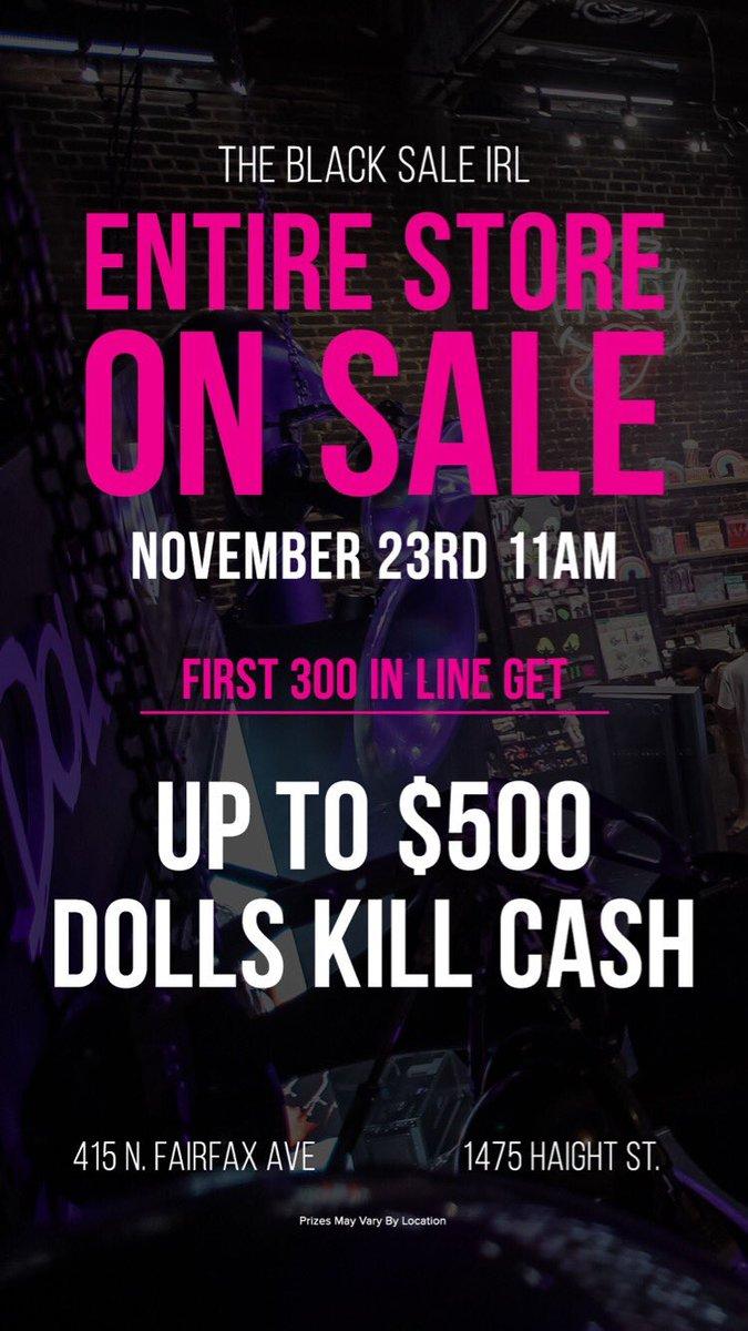 Dolls Kill On Twitter And More Blackfriday Dolls Kill