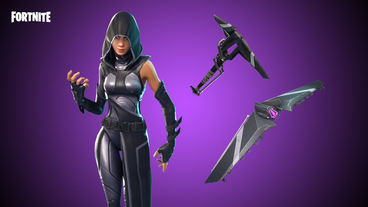 fortnite on twitter seafood savior destiny dealer or enigmatic entity the new maki master outfit shrimpy backbling fate outfit and lighting - home skin fortnite