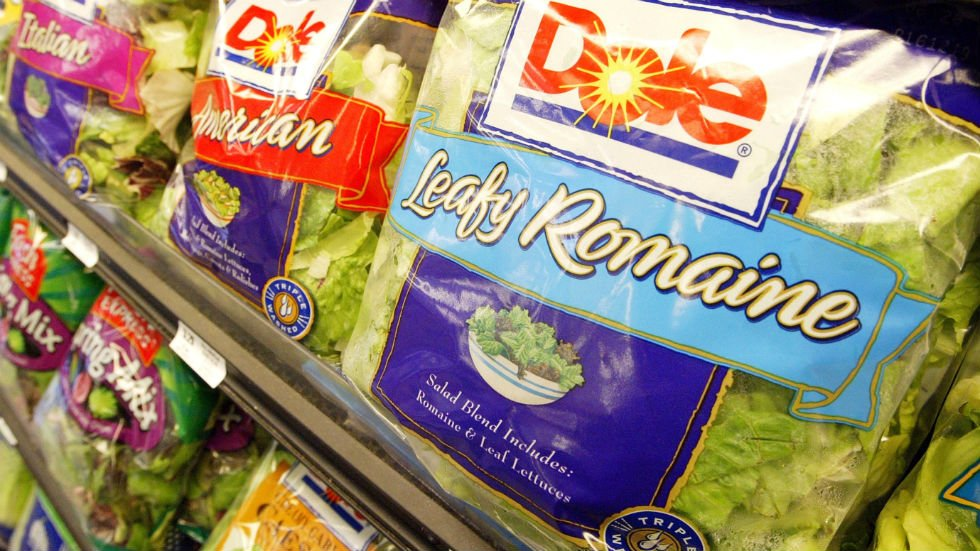 CDC tells people in US not to eat romaine lettuce due to E. coli outbreak https://t.co/RFdQSSPoir