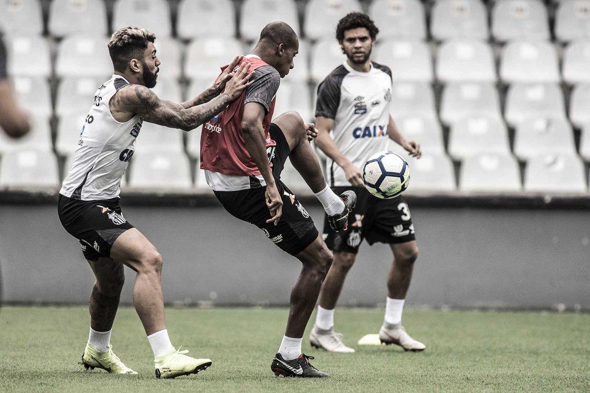 Treino de hoje na Vila Belmiro e preparação para o #SANxBOT!  Foto: Ivan Storti | Santos FC