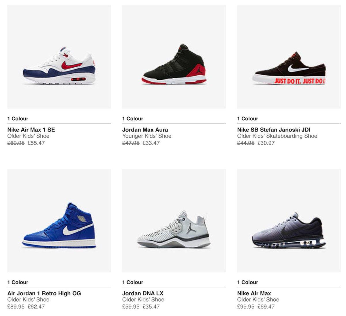 64a3ee475c2 Sneaker Deals GB on Twitter:
