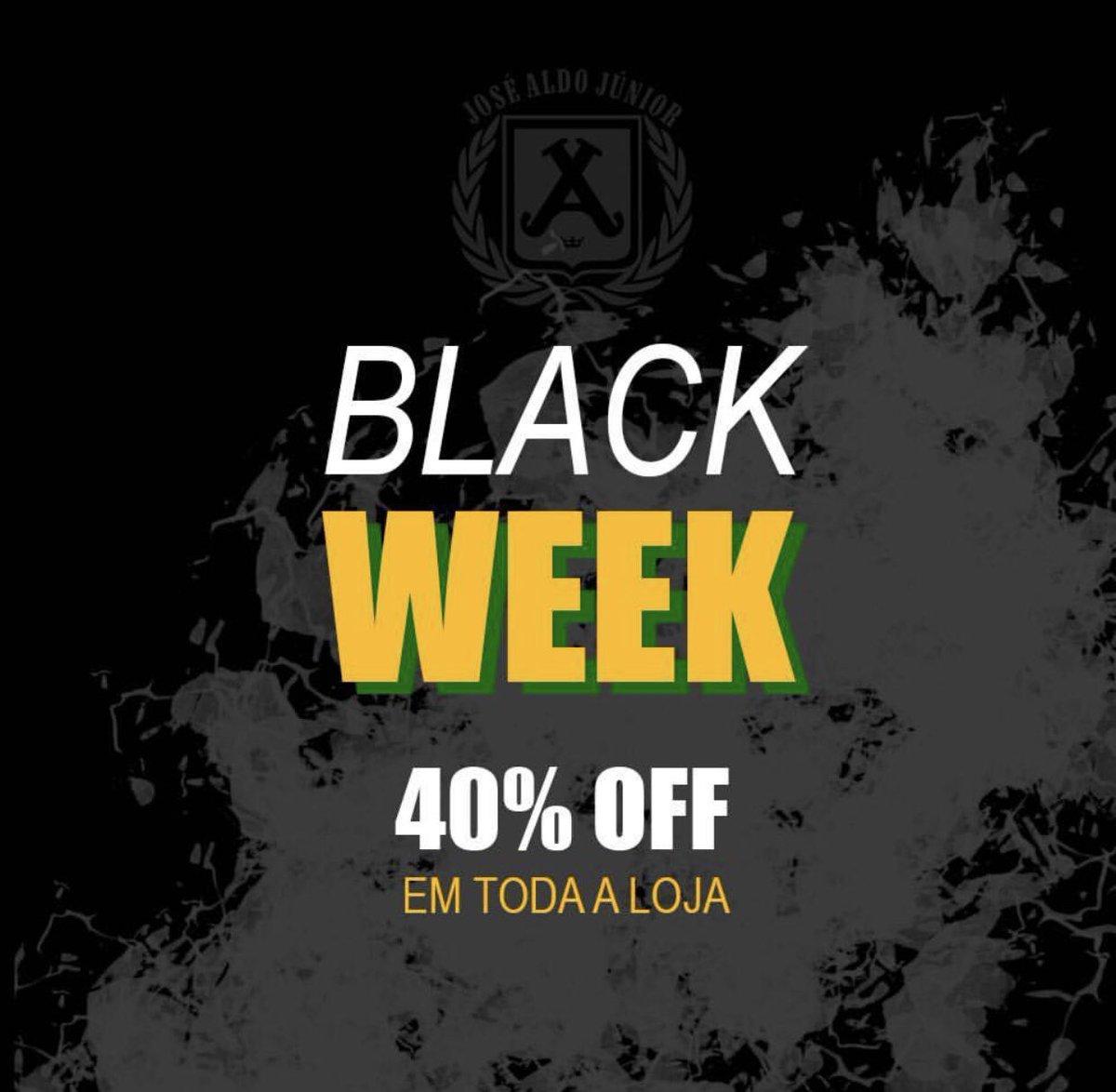 Do dia 19 a 26 de novembro #blackweek toda a loja. Acesse: http://josealdo.com.br
