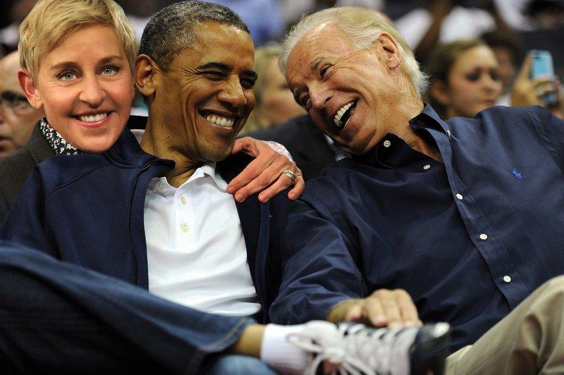 """Ellen DeGeneres on Twitter: """"Happy birthday, @JoeBiden! From your ..."""